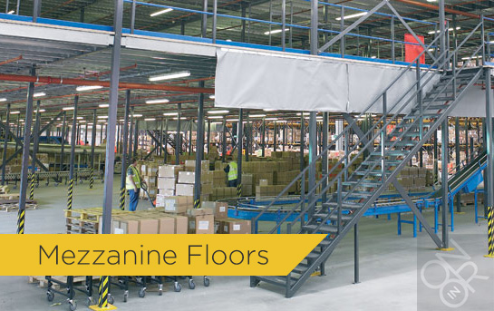Mezzanine Floors / Floor / Flooring / Raised Storage